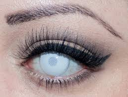 Halloween Prescription Contacts Uk by Halloween Inserting Black Sclera Contact Lenses So Creepy Cool I