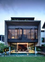 100 Home Designed FourStorey Family As A Smart House In Singapore