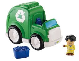 Amazon.com: Fisher-Price Little People Recycling Truck: Toys & Games Fisherprice Press N Go Monster Truck Green Toysrus Smallest Super Duty Ever Introduces Lifelike Toy Vintage Fisher Price Husky Helpers Dump Wguys Scoop 302 Little People Planes Cars Trucks And Trains Boy Amazoncom Hero World Rescue Heroes Fire With Ride On Toys Servin Up Fun Food Youtube The Helper Cement Mixer From In The Early Die Cast Vehicle Blaze New Free Wheelies All About Ritchie Brothers