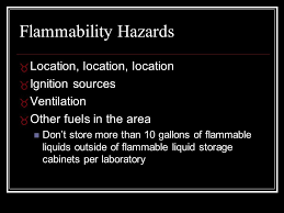 Flammable Liquid Storage Cabinet Location by Umes Presented By Environmental Health And Safety Preston Cottman