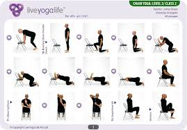 Yoga With A Chair Level 2 Class