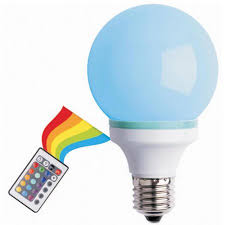 multi color changing led bulb with remote white walmart