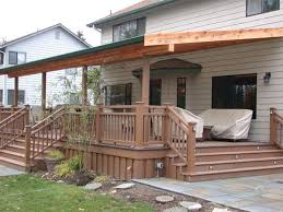 Patio And Deck Combo Ideas by Best 25 Covered Deck Designs Ideas On Pinterest Deck Covered