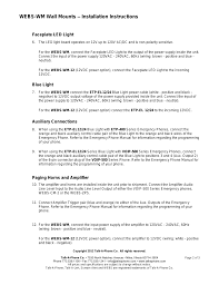Webs-wm Wall Mounts – Installation Instructions, Faceplate Led ... Panasonic Kxtgp 500 Twin Voip Phones Buy With Ligo Yealink W56p Business Hd Ip Dect Phone Megacall Your Next Generation Intercom By Talkaphone Youtube Webswm Wall Mounts Installation Itructions Faceplate Led 10 Best Uk Providers Jan 2018 Systems Guide Talkaphone Joins The Cisco Developer Network As Registered For A Small Pbx Voip600e Native Voip500 Series Emergency Gsecuritycom Portal Low Profile Wall Mount S Call Station Siemens Gigaset A510ip Base And Single Handset