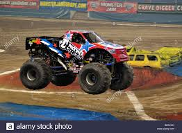 100 Monster Truck Nitro Jam Circus With Lee ODonnell Driver Stock Photo