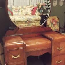 Waterfall Vanity Dresser Set by Antique Waterfall Vanity Antique Furniture