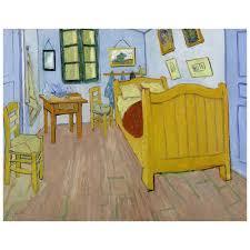 kunstdruck auf leinwand vincents schlafzimmer vincent gogh wanddeko canvas