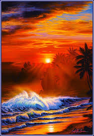 100 Christian Lassen Artist Seascapes From Hawaii Ries Riese