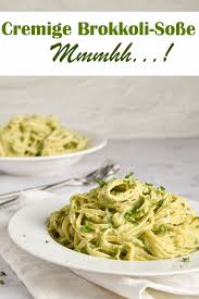 pasta mit cremiger brokkoli soße mix dich glücklich