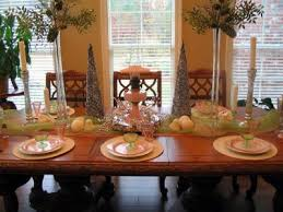 dining table decorations red wall room decorating ideas