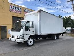 100 Atlantic Truck Sales Isuzu NQR 20 Foot NON CDL Van With Lift Gate TA Inc