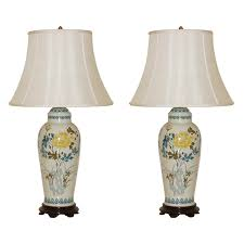 Marbro Lamp Company Los Angeles by The Marbro Lamp Company Pair Of Vintage Porcelain Lamps Swank