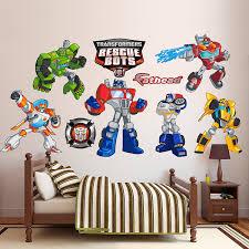 fathead baby wall decor fathead transformers rescue bots collection vinyl