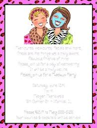 Free Pamper Party Invitation Templates