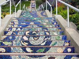 16th Avenue Tiled Steps Project by 16th Ave San Francisco Afar
