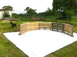 Pallet Fence Made Out Of Pallets Pool Ideas