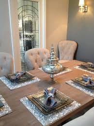 My Dining Room Love The Placemats Table Dinning Decor Ideas