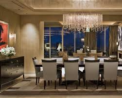 Contemporary Dining Room Chandeliers Beauteous Decor Modern For