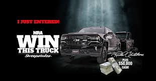 Official Entry | NRA Win This Truck Sweepstakes Build Your Tundra Sweepstakes Julies Freebies Stabil 360 Custom Car Winner Presentation Cool Jasons Story The Of Knapheides Winatruck Win That Ford Mustang Sweeptsakes Mungenast St Louis Honda Enter The Camp Ridgeline Bangshiftcom Classic Liquidators Upgrade Brakes On A 1971 C10 Chevy Pickup Truck Cabelas Announces More Winners Fifty Years Trucks Horsepower Pitvsind Youtube Monster Trucks Merchandise Nra Blog Truck Raffle Receives Prize