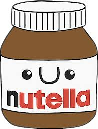 Cute Kawaii Food Nutella Inutella