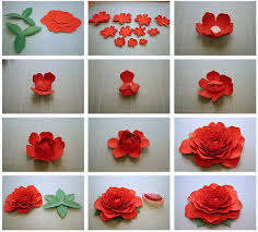 Paper Flower Design Step By