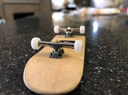 100 Fingerboard Trucks Shaped And Polished Some Tech Deck Trucks S