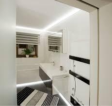 indirekte beleuchtung für ein bad contemporary bathroom