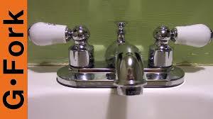 Moen Bathroom Sink Faucets Leaking by How To Repair Moen Bathroom Faucet Dripping Water Cartridge