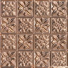 24 X 24 Inch Ceiling Tiles by Solid Copper Ceiling Tiles Actual Aged Copper Tiles Authentic