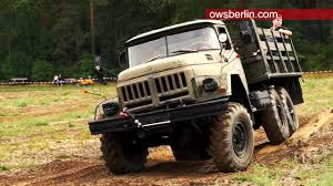 100 Zil Truck 131 SovietRussia Military Truck ZIL131 Offroad YouTube