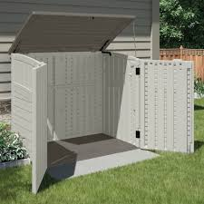 Rubbermaid Roughneck Gable Storage Shed by Suncast Horizontal Utility Shed Walmart Com