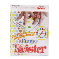 Finger Twister Dance On Fingers Family Toys Board Game For Children Adult And