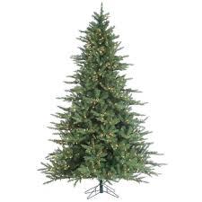 Layered Idaho Pine Instant Glow Power Pole Pre Lit Artificial Christmas Tree