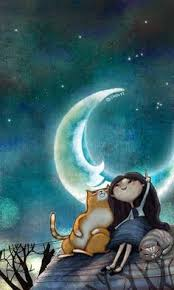 siege lune hello buenas noches mensajes moon moon and beautiful