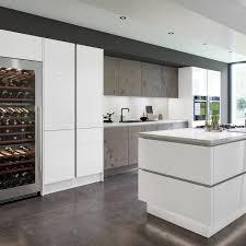 White Kitchen Idea 21 Grey And White Kitchen Ideas That Impress In 2021 Houszed