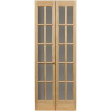 awc traditional divided light glass 32 x 80 5 bifold door