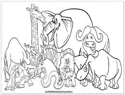 Download Coloring Pages Zoo Animals Color Ideas Picture Page Colorful Elephants Tumblr Elephant Mandala For Adults