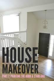 Using A Paint Sprayer For Ceilings by Livelovediy Our 1970 U0027s House Makeover Part 7 The Painted Door
