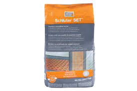 Thinset For Porcelain Tile Over Ditra by Schluter Set Setting Materials Schluter Com