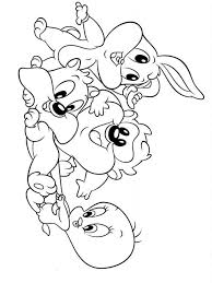 Baby Looney Tunes Coloring Pages 1