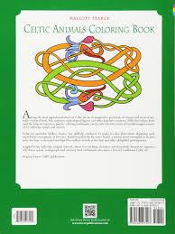 Celtic Animals Coloring Book Dover Books Mallory Pearce 9780486297293 Amazon