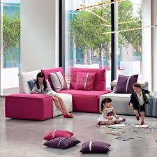 canapé d angle canapé tissu modulable design contemporain