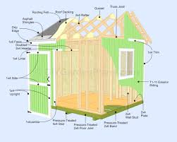 10x10 Gable Shed Plans Lots Makes Building This 9