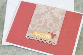 5 Easy Handmade Cards Out Of Paper Scraps