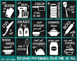 Kitchen Decor Utensil Art By LittleLifeDesigns Plattertoplate