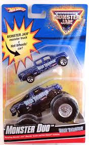 100 Blue Monster Truck Duo Thunder Model Vehicle Sets HobbyDB
