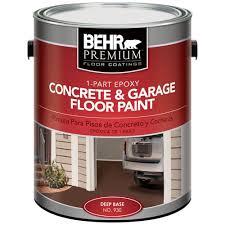Sherwin Williams Floor Epoxy by Behr Premium 1 Gal 1 Part Epoxy Concrete And Garage Floor Paint