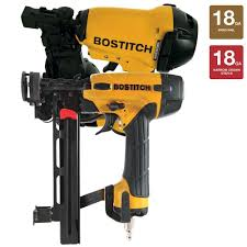 Home Depot Bostitch Floor Nailer by Bostitch 1 3 4 In Roofing Nailer And 18 Gauge Cap Stapler Combo