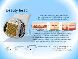 Home Use Dot Matrix RF Facial Radio Frequency Thermage Skin