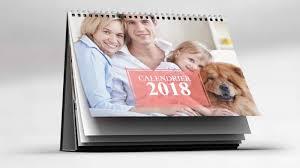 calendrier de bureau personnalisé avec photo flexilivre